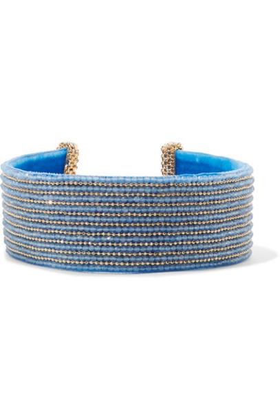Rosantica gold blue jewels