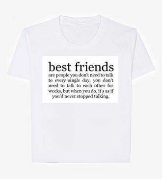 top bff quote on it crop tops cute crops summerb eachn ew casualt shirt gossip girl new ootd f fashions stylew amazing cute whitew white black kenda jenner kendall jenner