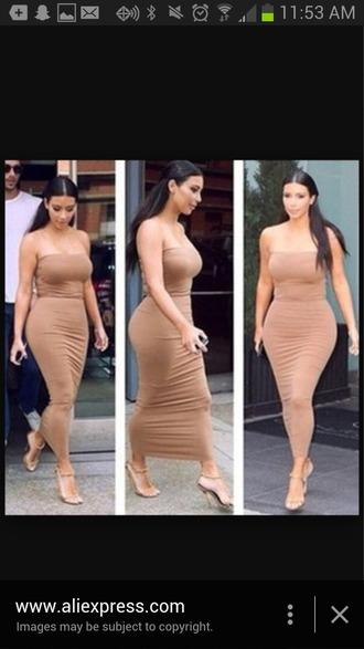 dress strapless dress long strapless dress