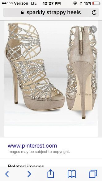 rhinestones strappy shoes caged party shoes high heels sexy shoes