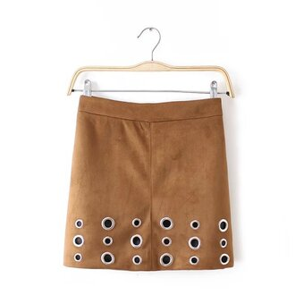 skirt skater skirt mini skirt pencil skirt detailed beading nicki minaj brooklyn blonde brown tumblr winter outfits fall outfits