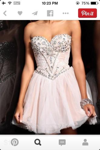 dress homecoming dress formal dress pink dress