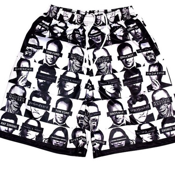 alexander mcqueen mesh shorts designers givenchy