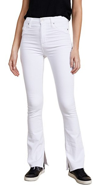 jeans high optical white