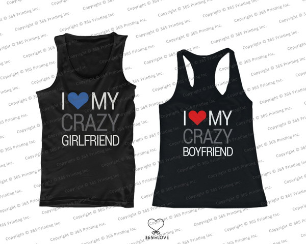 tank top i love my boyfriend shirt i love my girlfriend shirt matching tank tops matching couples matching couple tank tops matching couples bf and gf his and hers gifts his and hers tank tops