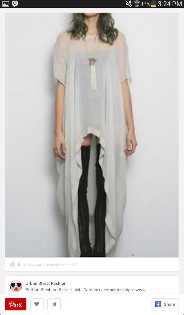 blouse t-shirt stockings
