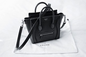 bag,celine bag,celine paris shirt,celine,black,black bag,leather,leather bag,leather black,black leather bag,cool