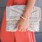 Peru woven crossbody bag - taupe/natural