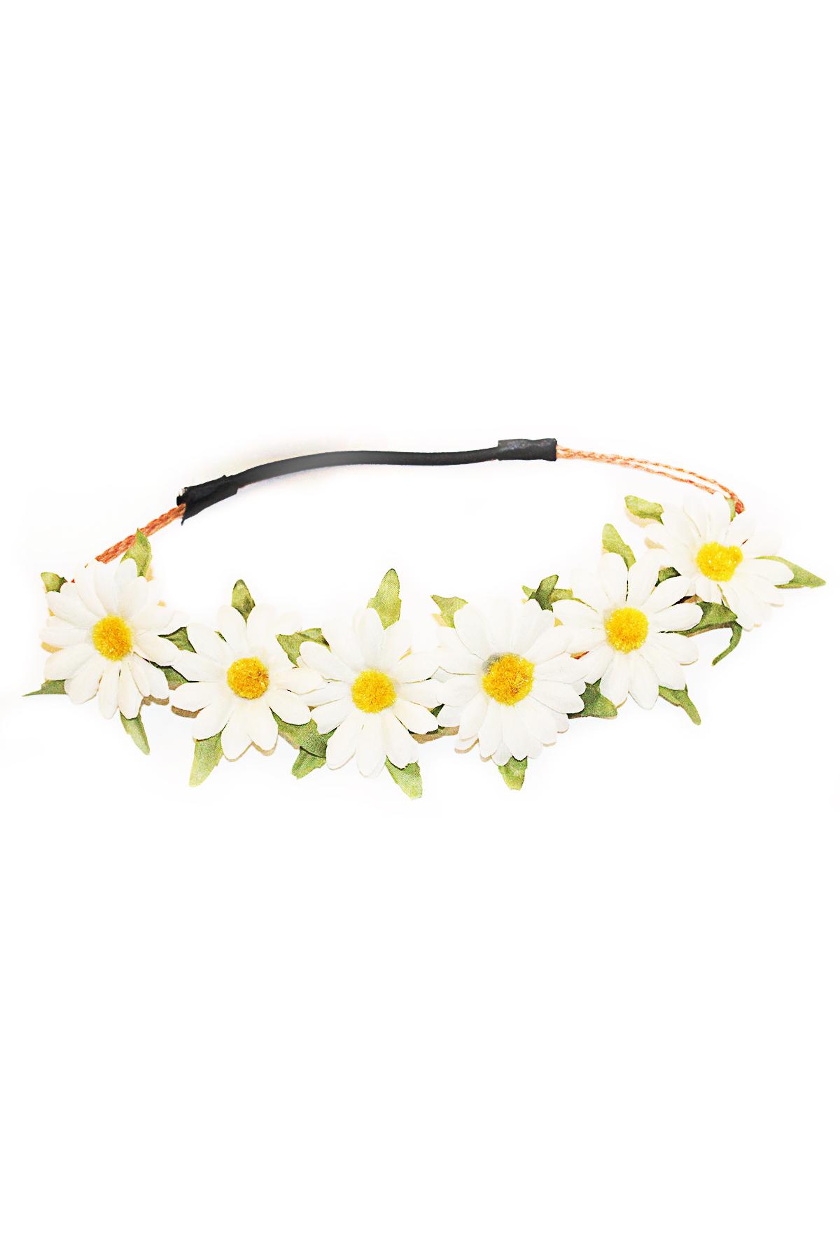 Daisy floral headband — simply chic
