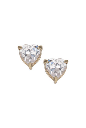 Cubic Zirconia Stud Earrings - Jewellery  - Bags & Accessories  - Topshop