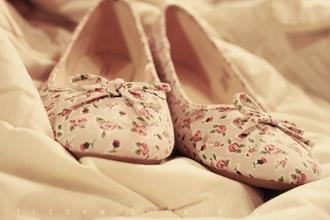shoes floral flats summer cute