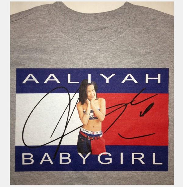 Aaliyah Tommy 90s Hip Hop Hip Hop Shirt Hip Hop