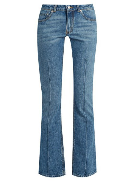 Alexander Mcqueen jeans cropped jeans cropped denim light