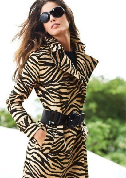 leopard print jacket fashion style classy glamgerous