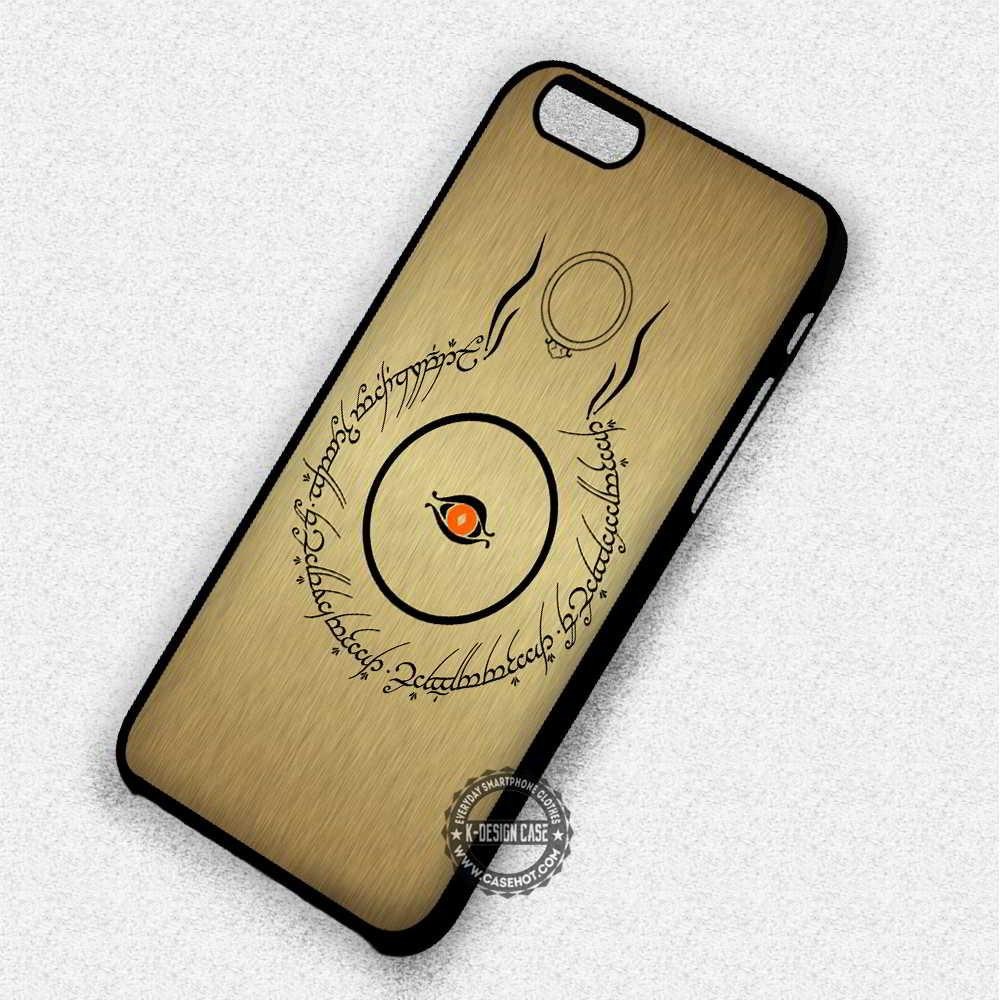Single Eye One Ring Lord of The Rings - iPhone 7 6 5 SE Cases & Covers