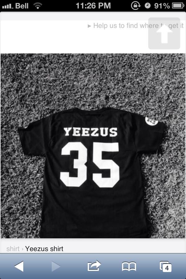 t-shirt black jersey
