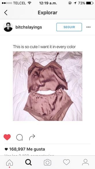 pajamas pink lengerie perfect