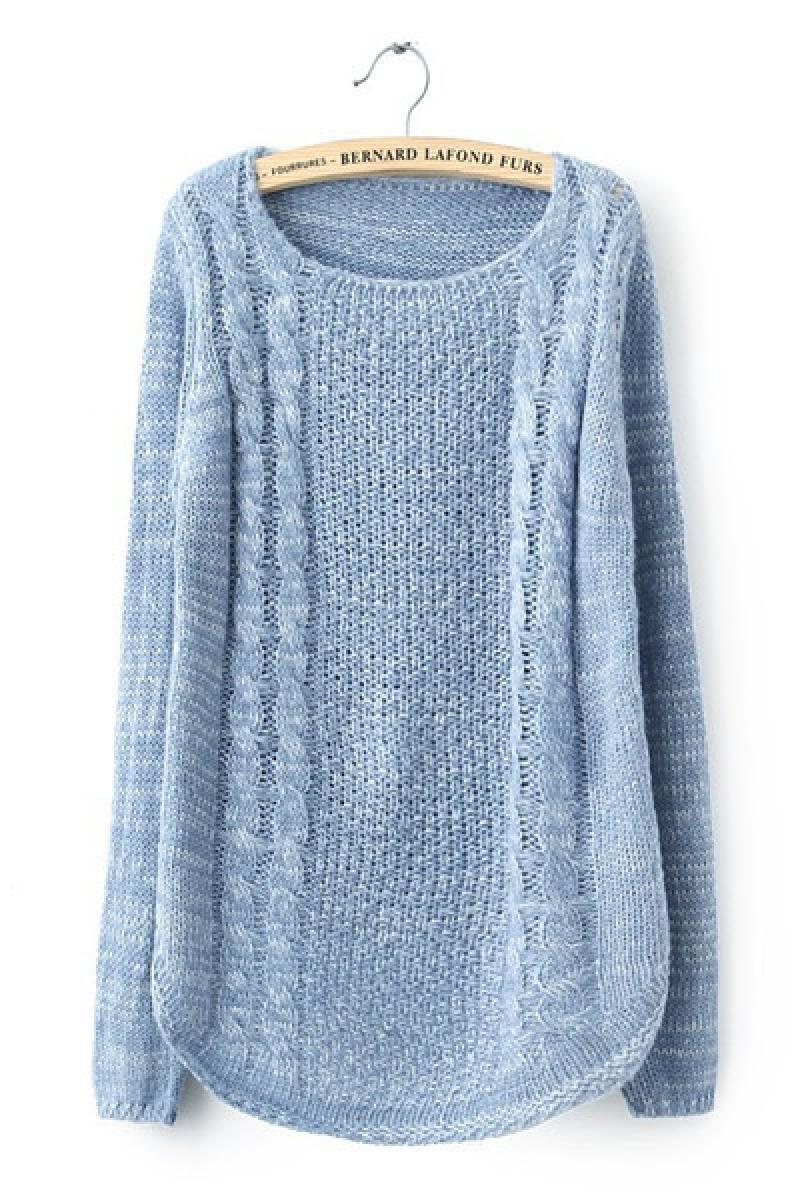 Autumn&Winter New Twist Pullover Knitwear,Cheap in Wendybox.com