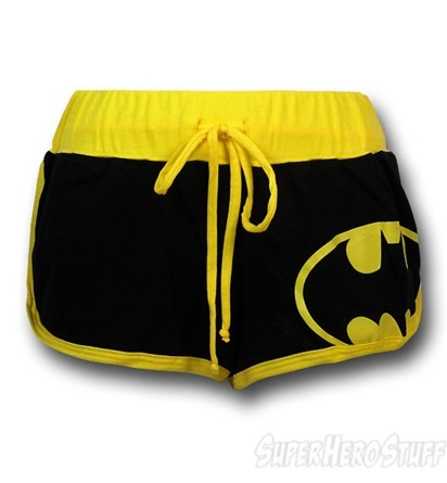 Batman juniors short shorts
