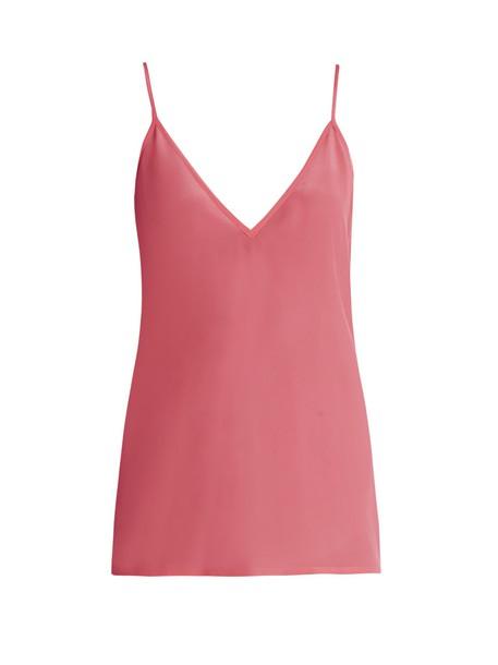 Raey top silk pink