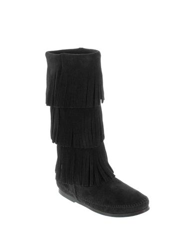 Layer fringe boot