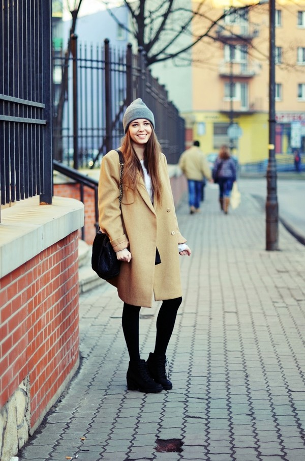 jestem kasia coat hat shoes bag