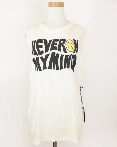 Never on my mind Sleeveless Shirt