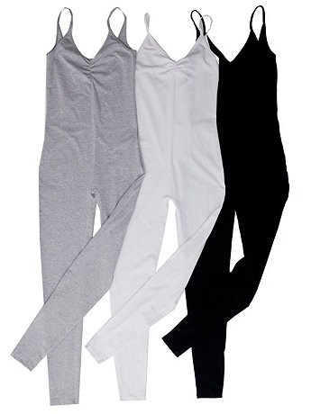 Cotton Spandex Jersey Unitard (3-Pack) | American Apparel