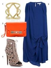 dress,halston heritage