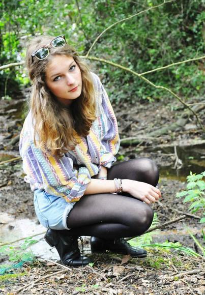 vintage blouse shirt colours