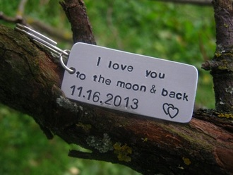 jewels cute i love you to the moon and back couples accessories relationships