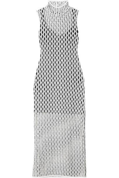 Beaufille dress midi dress open midi white knit