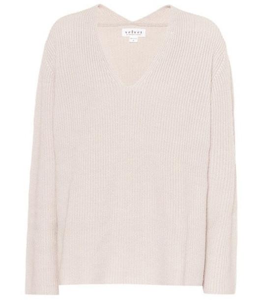 Velvet Tayen wool-blend sweater in beige / beige