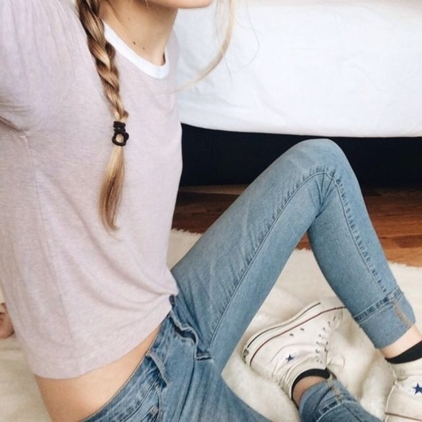 Acid wash skinny jeans tumblr