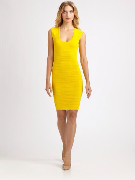 yellow yellow dress