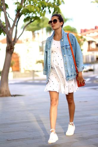 marilyn'scloset blogger jacket dress shoes bag sunglasses