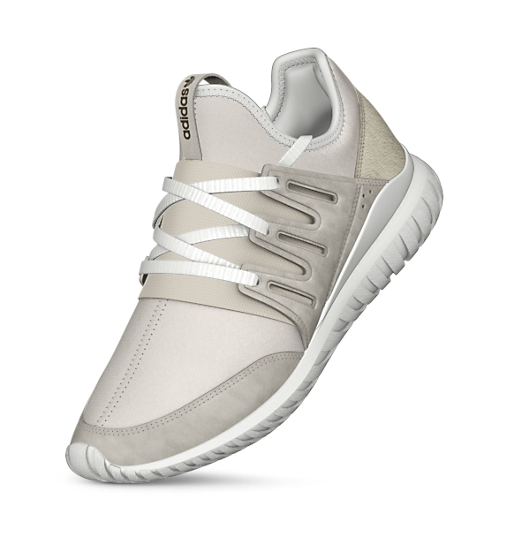 adidas Tubular Radial Shoes Λευκό adidas MLT