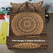 home accessory,mandala bedding set,bedding,donna cover,comforter cover,comforter cover set,bohemian comforter cover set,large duvet cover set,bedding set with pillow cases,indian tapestry bed cover duvet cover and pillows,golden ombre duvet cover set,boho chic duvet cover,bedding boho colourful,mandala bedding set with matching pillows