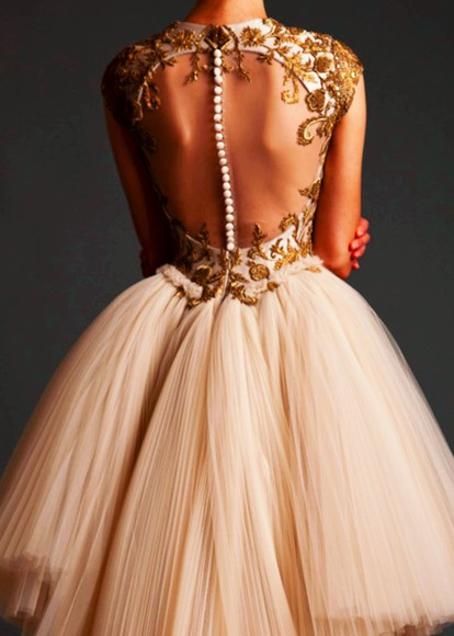 gold prom dress prom vintage pearl dress vintage dress tulle dress