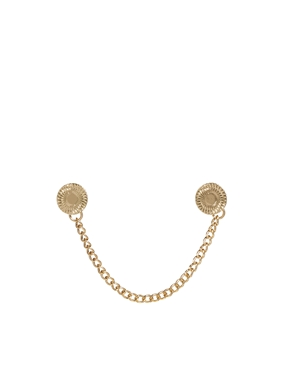 ASOS | ASOS Collar Tips With Circle at ASOS