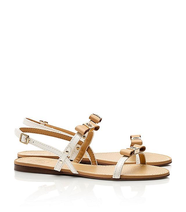 20722d6e13b2c5 Tory Burch Kailey Flat Sandal   Women s Designer Shoes