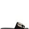 10mm embellished suede slide sandals