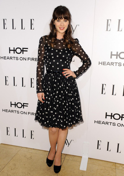 dress zooey deschanel