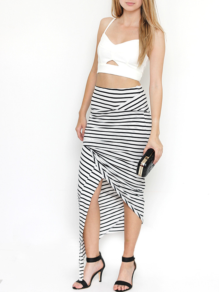Rouched maxi skirt – lilypop boutique