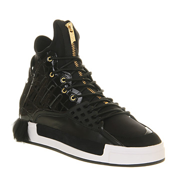 Adidas Y3 Riyal Black Croc Fur - Hers trainers