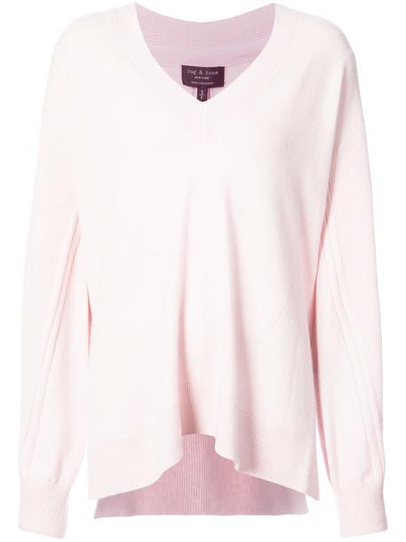 Rag & Bone jumper women purple pink sweater