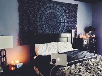 home accessory bedroom bedding tapestry mandala dorm room flag home decor beautiful bde perfect style fashion shoes boots black