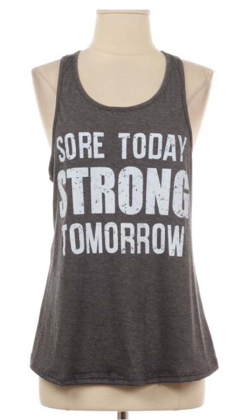 Sore today tank · modern mint boutique · online store powered by storenvy