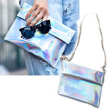 Fashion Chic Hologram Holographic Clutch Purse BAG | eBay