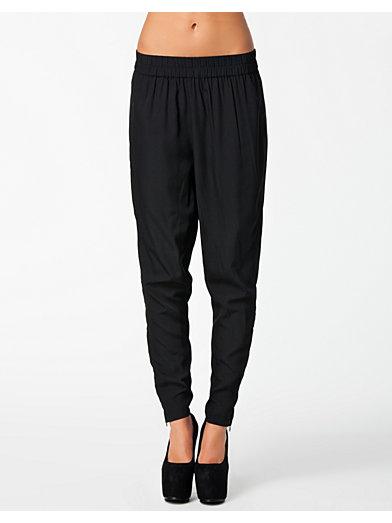 Printed Pants - Nly Trend - Svart - Byxor & Shorts - Kläder - Kvinna - Nelly.com